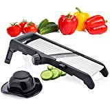 Sterline Adjustable Stainless Steel Mandoline Slicer and Waffle...