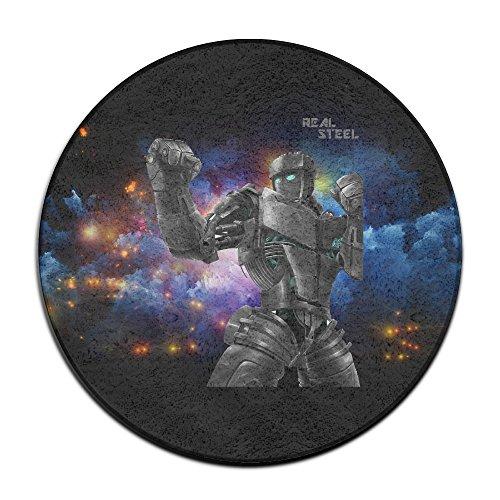 [MEGGE Real Steel Non Slip Door Mat] (Full Plastic Iron Man Costume For Sale)