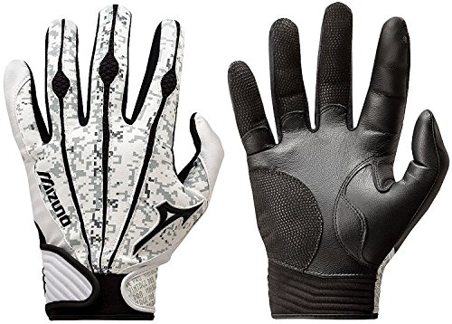Mizuno Adult Vintage Pro Batting Gloves, Digi Camo, Small