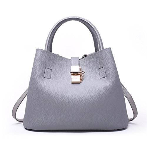Unknown - Bolso mochila  para mujer Gris gris gris
