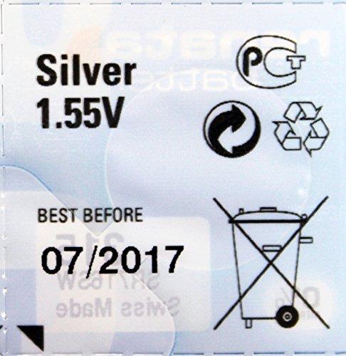 Renata D371 LR921 Silver Mercury Free Electronic Batteries x