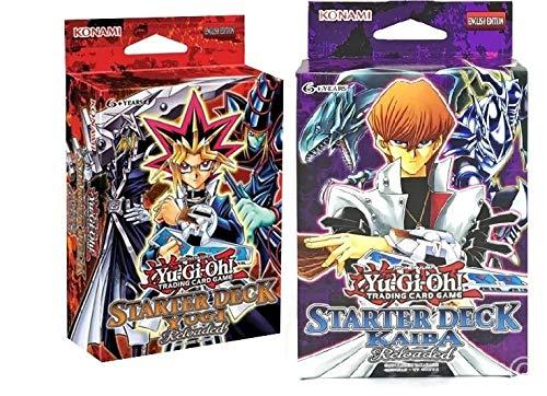 (Yu-Gi-Oh Starter Deck Yugi & Kaiba Reloaded Set of 2)