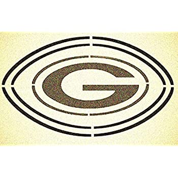 Green Bay Packers Stencil Mylar Mancave Sport Football Stencils