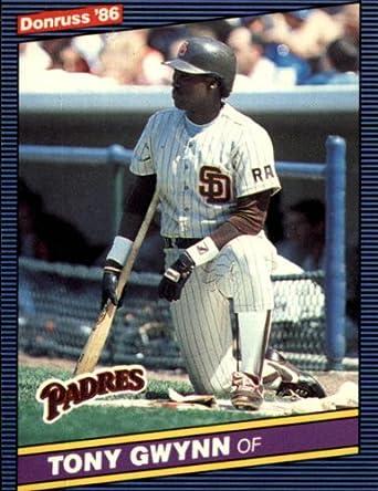 Amazoncom 1986 Donruss Baseball Card 112 Tony Gwynn Mint