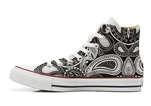 Converse producto All Artesano Zapatos Customized Personalizados Star Elegant Paisley rrqFwX