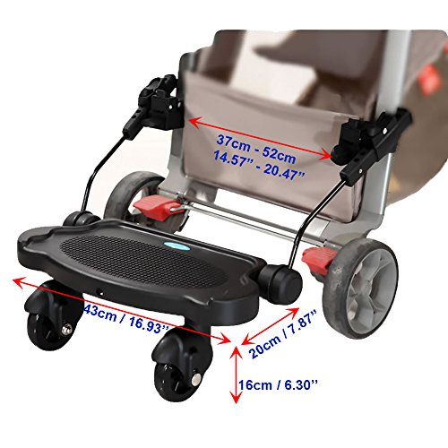 Zerlar Universal Ride-On Stroller Board Stroller Connectors by Zerlar (Image #3)