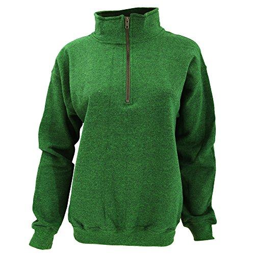 Gildan Adult Vintage 1/4 Zip Sweatshirt Top (M) (Meadow)
