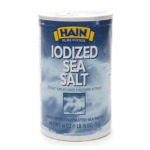 Hain Sea Salt Iodized by Hain (Image #1)