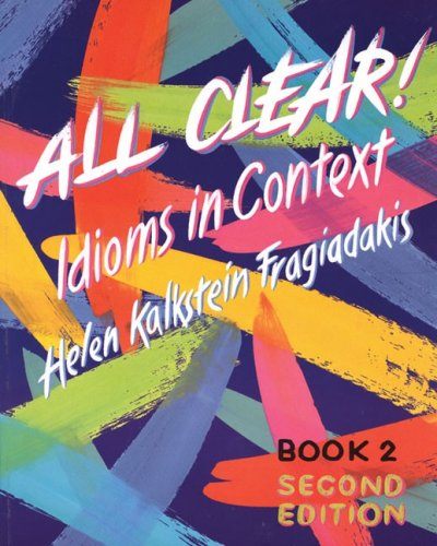 All Clear! Idioms in Context