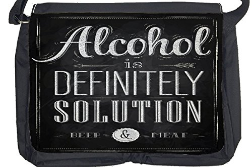 Borsa Tracolla Divertimento Soluzione alcolica Stampato