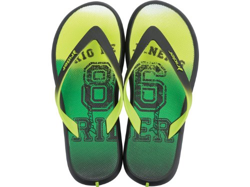 Rider Energy Mens Flip Flops / Sandals - Green tg54dt