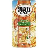 ST Shoshu-Riki Deodorizer for Toilet, Orange