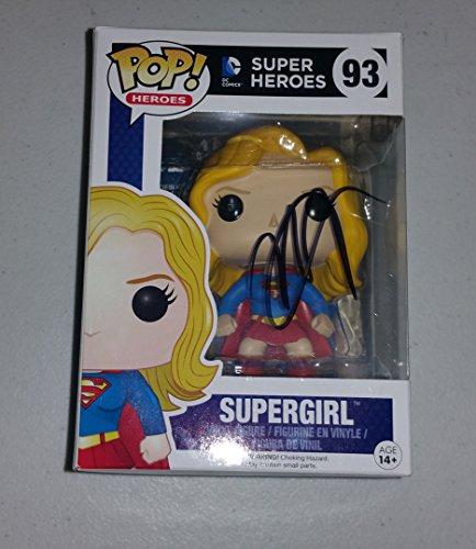 Melissa Benoist - Signed SUPERGIRL Funko POP Toy 93 PROOF COA DC COMICS