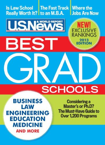 Best Graduate Schools 2013