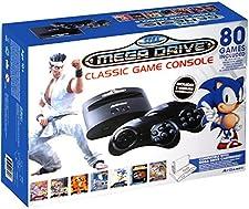 CLASSIC GAME CONSOLE SEGA GENESIS 80 GAMES