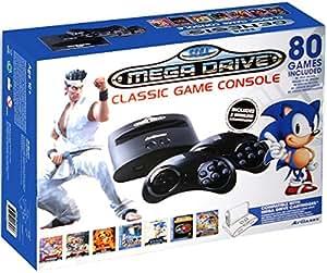 Sega Mega Drive - Consola Retro Wireless + 80 Juegos + Virtua...