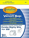 eureka 60295b - Vacuum Parts & Accessories Eureka Type MM Mighty Mite Canister Vacuum Cleaner Bags # 60295B