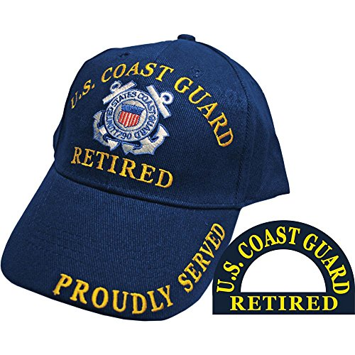 U.S. Coast Guard Retired Hat Cap -