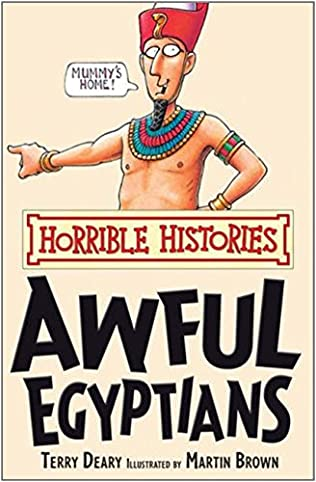 book cover of The Awful Egyptians