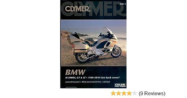 amazon com: clymer bmw k1200rs, k1200gt & k1200lt (1998-2010) (53200):  automotive