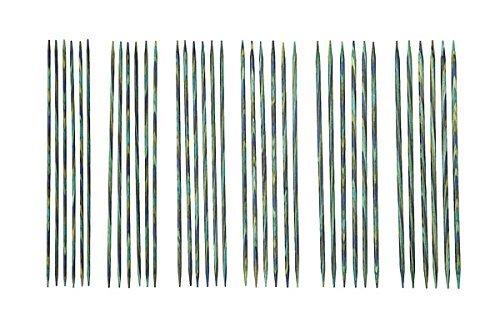 Knit Picks 6'' Caspian Wood Double Pointed Needle Set by KnitPicks