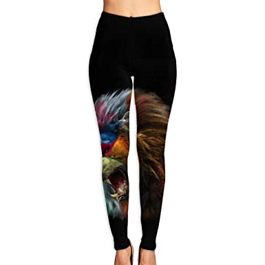 Amazon.com: Virgo Lion King Yoga Pants for Women Compression ...
