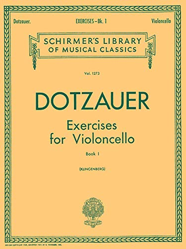 Exercises for Violoncello, Vol. - Cello 1 Volume