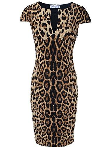 Buy leopard print bodycon dress