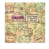 Beistle Around The World Luncheon Napkins   Travel, International & World Theme Party Supplies (16 Count)
