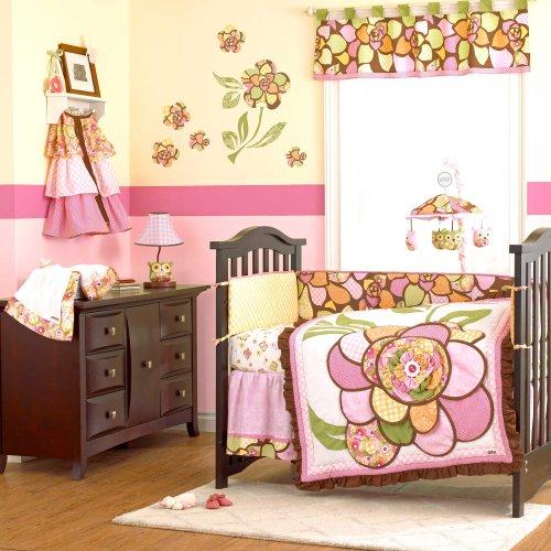 (Willa 4 Piece Baby Crib Bedding Set by)