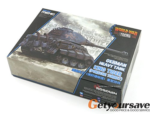 (Meng Wwt-003 Model - German King Tiger (porsche Turret) World War Toons)