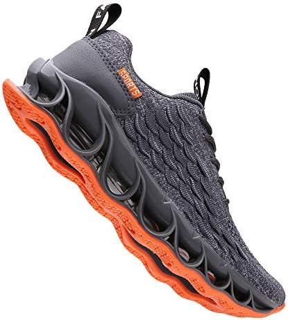 wanhee Men's Sneakers Sport Running Athletic Tennis Walking Shoes    Product Description