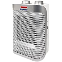 Impress IM-750W 1500-watt Ceramic Heater with Adjustable Thermostat (White)