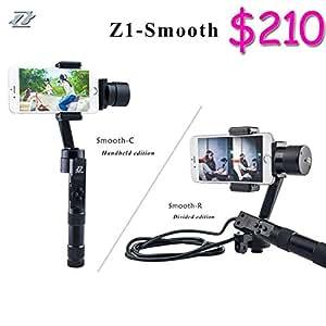 DHL EL EMS ARBUYSHOP envío gratuito Zhiyun Z1 Smooth C / Z1 suave R3 teléfono sin escobillas del eje cardán teléfono inteligente estabilizador, de mano de teléfonos inteligentes