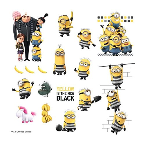 RoomMates Despicable Me 3 Peel And Stick Wall Decals
