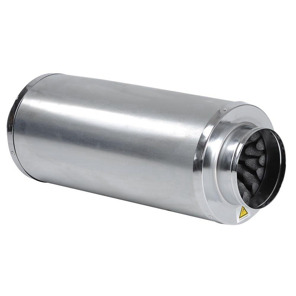 Hydroponic Inline Fan Duct Muffler- 6'' Silencer