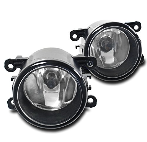 ZMAUTOPARTS Acura / Ford / Honda / Jaguar / Lincoln / Subaru / Suzuki Bumper Driving Fog Lights Lamps Chrome