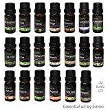20 Bottle of 100% Pure Essential Oil 10ml Therapeutic Grade Combo Set
