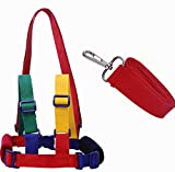 Lomire Baby Anti-Lost Strap Backpack,Safety Travel Walking Hand Belt Harness Reins Leash for Child Toddler (Yellow/Green)