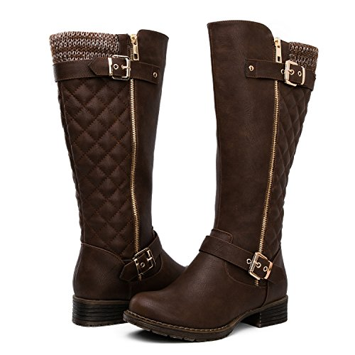 Global Win Women's KadiMaya16YY25 22Boots (10 M US Women's, Brown01)
