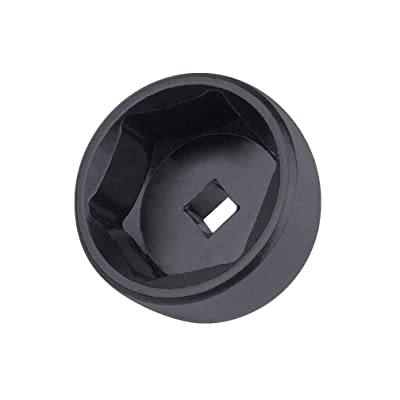 """Ibetter 32mm 6-Point Socket, Low Profile Oil Filter Wrench,3/8"""" Drive Oil Filter Removal Tool for GM, Volkswagen, Pontiac Chevrolet, Saturn, Pontiac, Saab and All with 32mm Oil Filter Caps (Black): Automotive"""