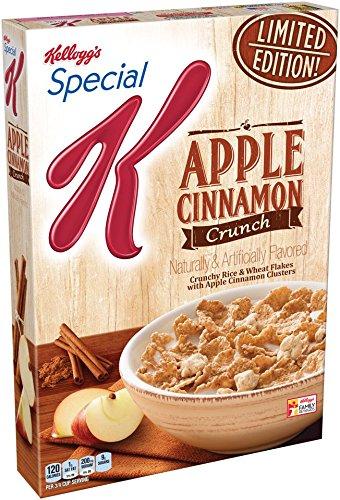 Special K Kellogg's, Apple Cinnamon Crunch, 12.4 Ounce