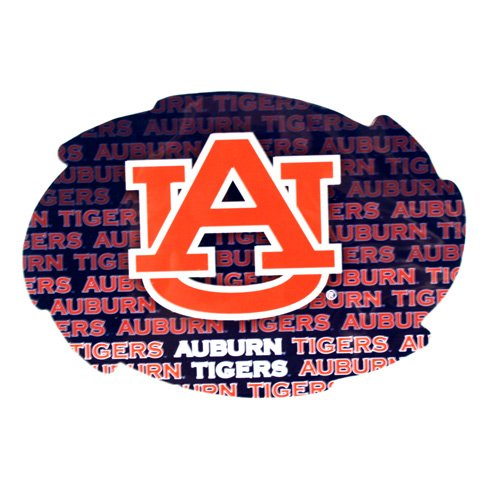 (NCAA Officially Licensed Auburn Tigers Repeating Design Swirl Magnet)