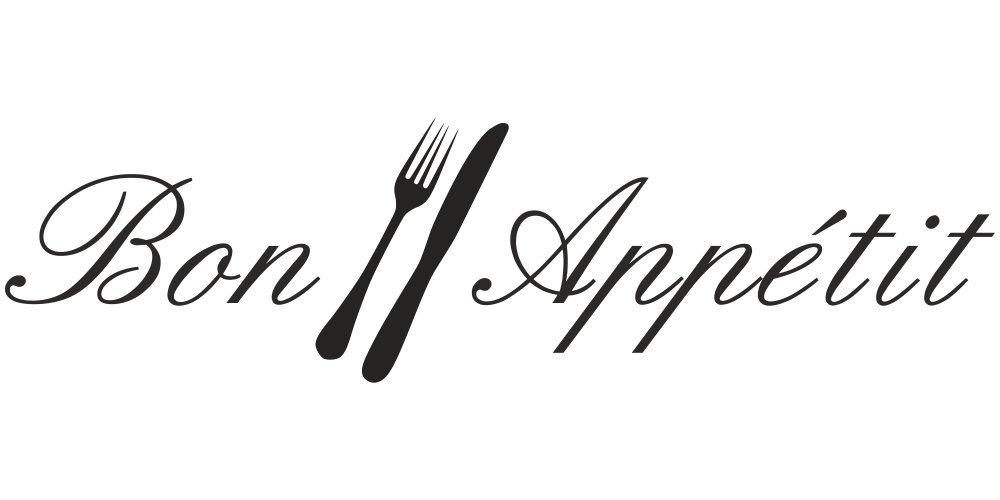 Bon Appetit Wandtattoo K/üche