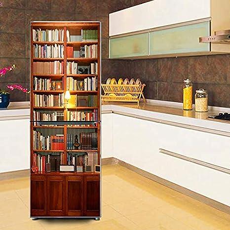 Pegatina Puerta Refrigerador, Imagen 3D Restaurada Autoadhesivo ...