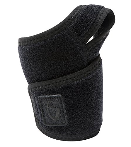 Phiten Titanium Wrist Wrap with Thumb Hook (Titanium Arm Phiten)