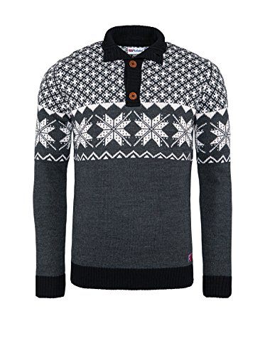 Nebulus Jumper Oscuro Hombre Himal Gris rqn1CwrxBv
