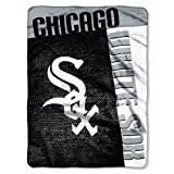Chicago White Sox 60''x80'' Royal Plush Raschel Throw Blanket - Strike Design