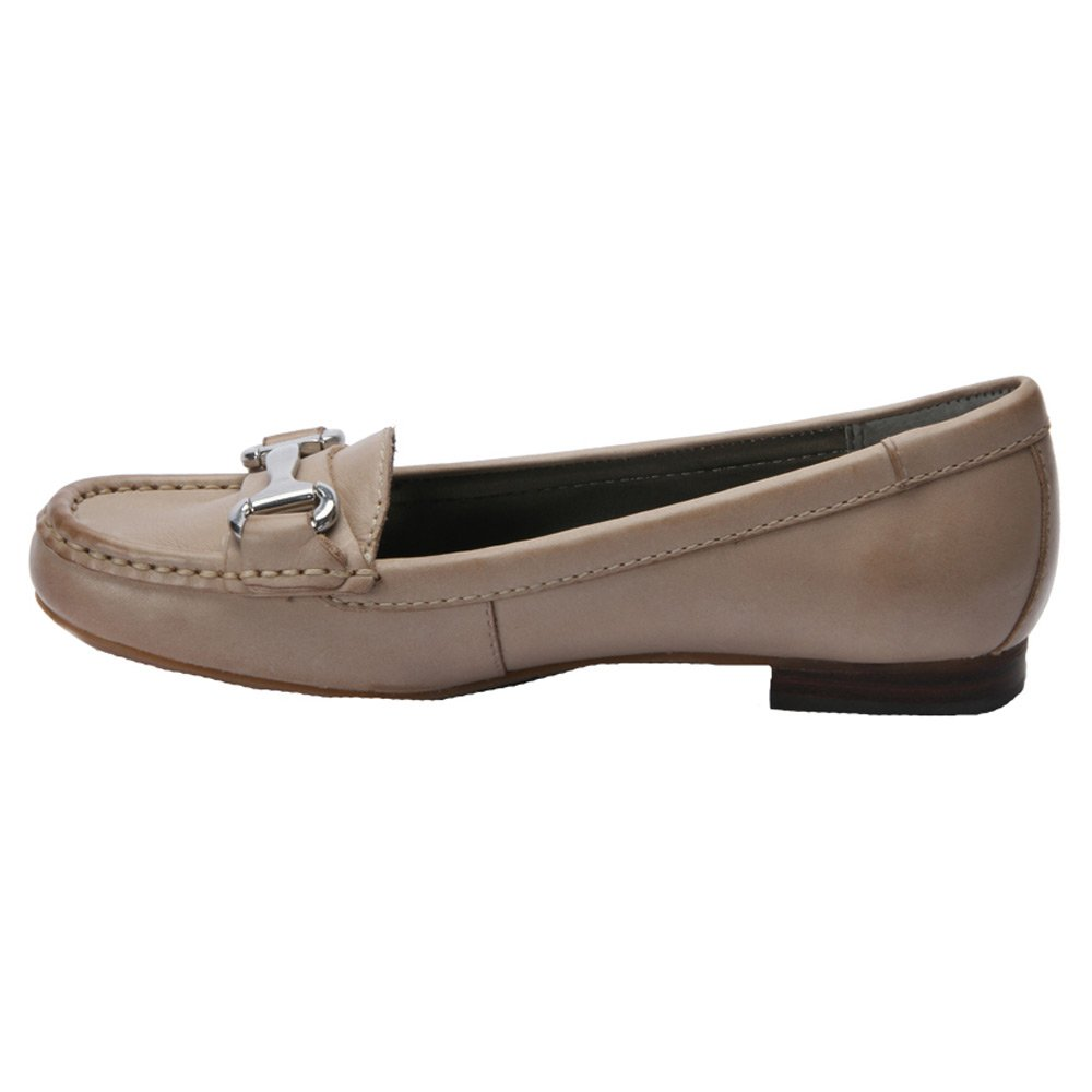 Ros Hommerson Women's Regina Moc Toe Casual Loafers B00UXMRWCY 6.5 2A(N) US Moonstone Burnished Leather