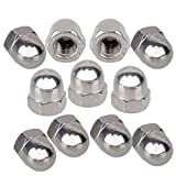 CNBTR Acorn Dome Head Metric Stainless Steel M6 Socket Size Pack of 10